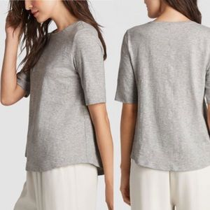 EILEEN FISHER Organic Cotton Tee - Size Small